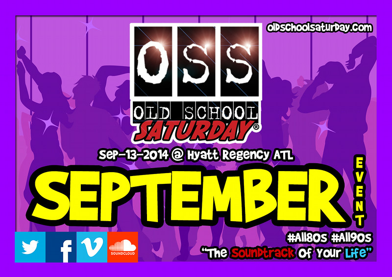"Next Event:  Sep.13.2014 at The Hyatt Regency --- special guest:  DJ JELLY<br /> info:   <a href=""http://www.oldschoolsaturday.com"">http://www.oldschoolsaturday.com</a>"