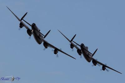 2 x Lancasters D 160814 OW