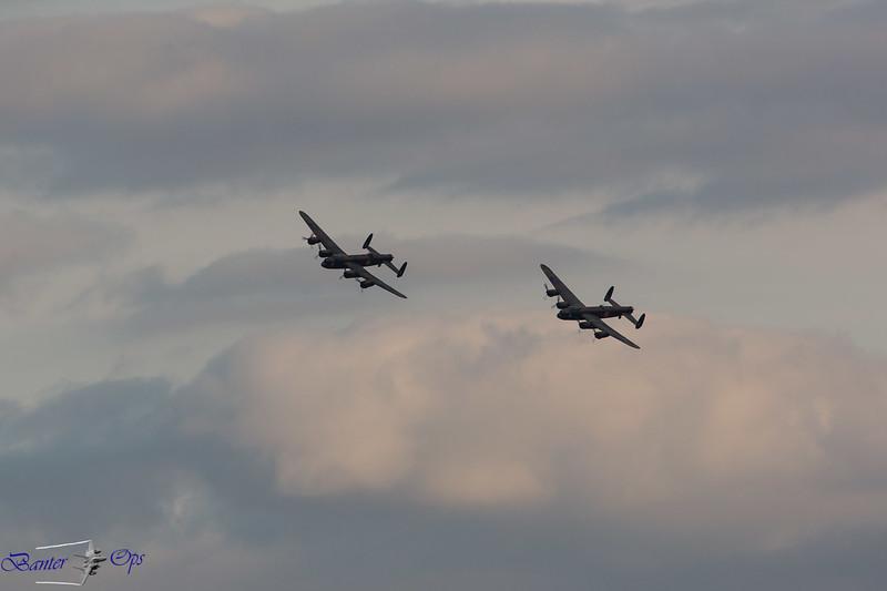 2 x Lancasters C 160814 OW
