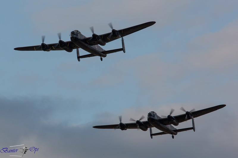 2 x Lancasters A 160814 OW