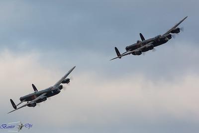 2 x Lancasters E 160814 OW