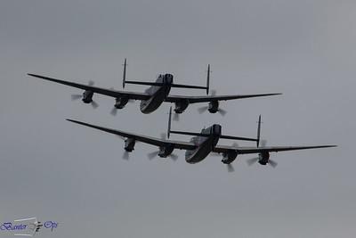 2 x Lancasters B 160814 OW