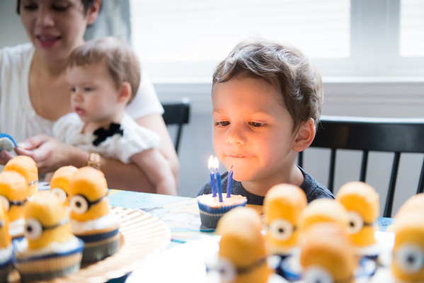 Oliver & Pipers Birthday - 2014