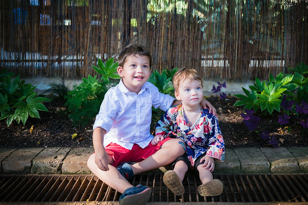 Oliver & Piper - Summer 2014