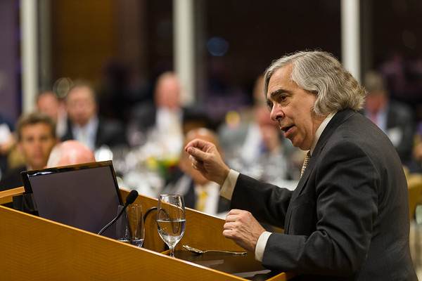 Secretary of Energy Ernest Moniz Campus Visit