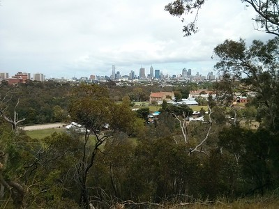 20141102 Yarra Boulevard view of the City