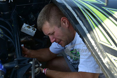 Scott Bloomquist crew member - Brian Imler