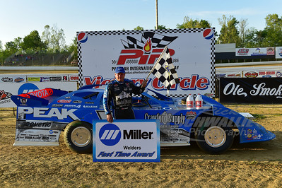 Don O'Neal won the Miller Welders Fast Time Award