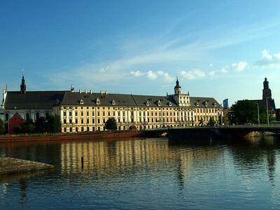 Panorama of the battle of Raclawice & old city Wroclaw summer 2014