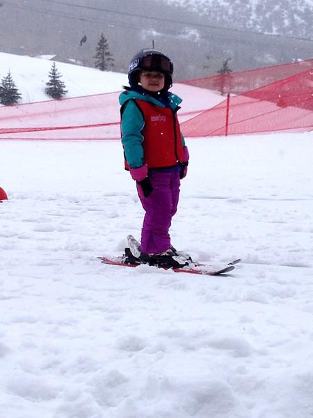 Skiing in Park City, Utah
