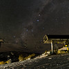 Perisher Village Eight Express looking South with Milky Way.