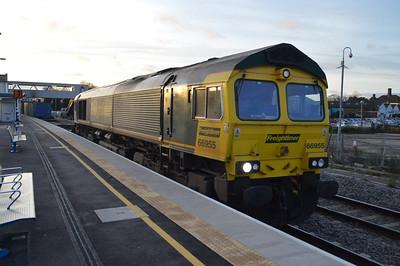66955 0830/4e62 Felixstowe-Doncaster Railport.