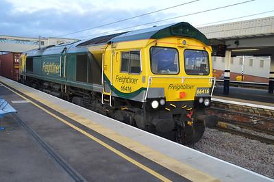 66416 1426/4L85 Doncaster Railport-Felixstowe.