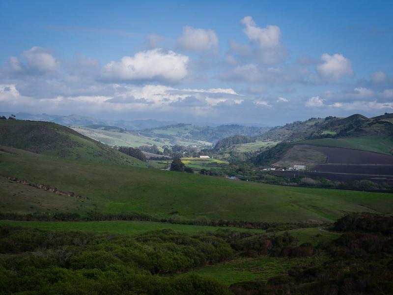 San Gregorio valley