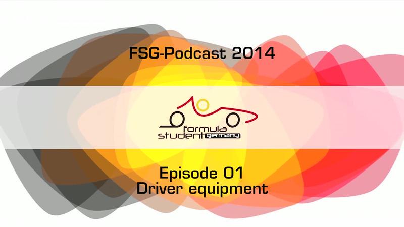 FSG-podcast 2014 - E01 - driver equipment