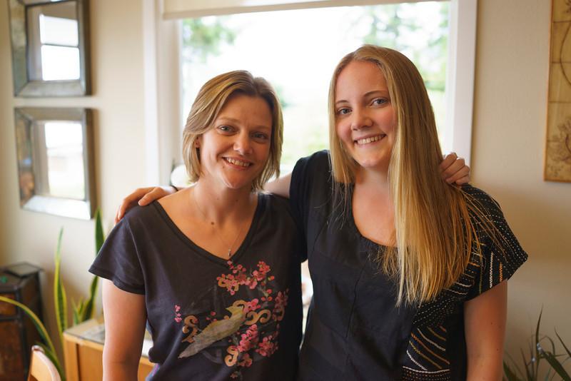 Kristin and Emily