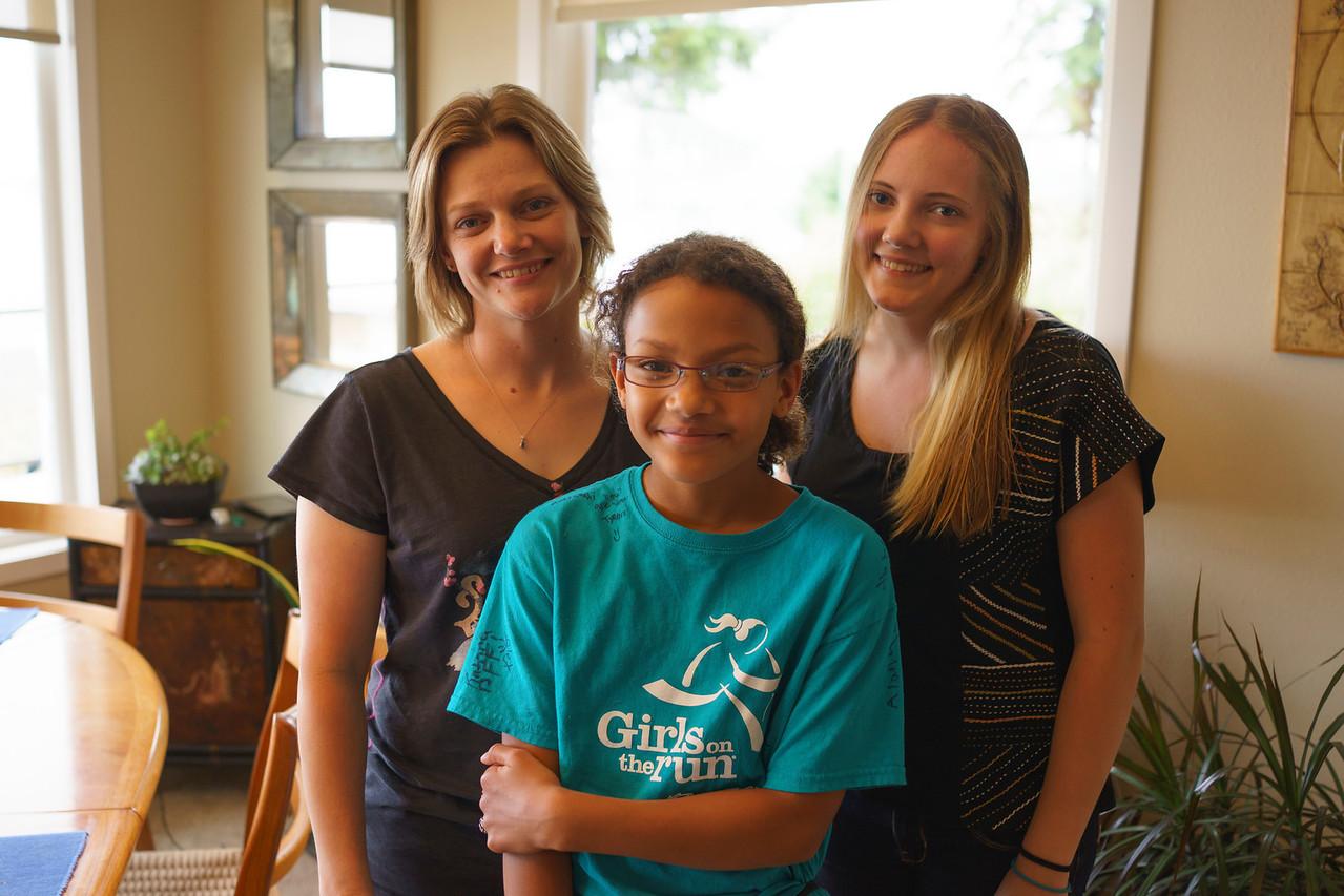 Kristin, Savannah and Emily