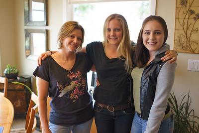 Kristin, Emily and Elena