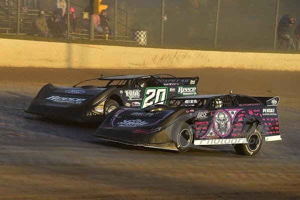 0 Scott Bloomquist and 20 Jimmy Owens