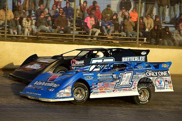 1 Brandon Sheppard and 22 Gregg Satterlee