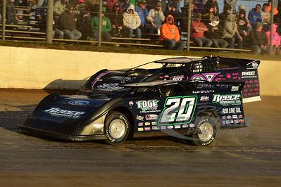20 Jimmy Owens and 0 Scott Bloomquist