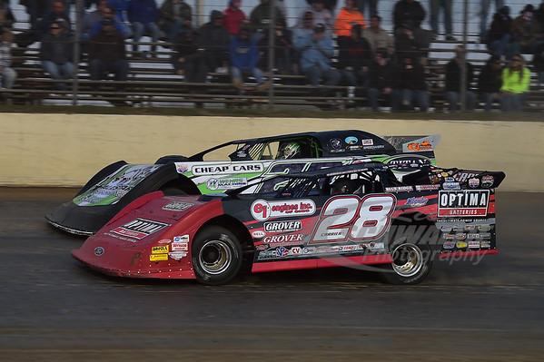 28 Eddie Carrier, Jr. and 25 Jason Feger