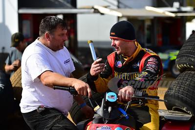 Tim McCreadie talks with Randall Edwards