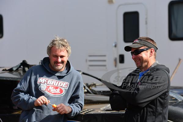 Dennis Erb, Jr. and LOLMDS Race Director - Kenny Kenneda