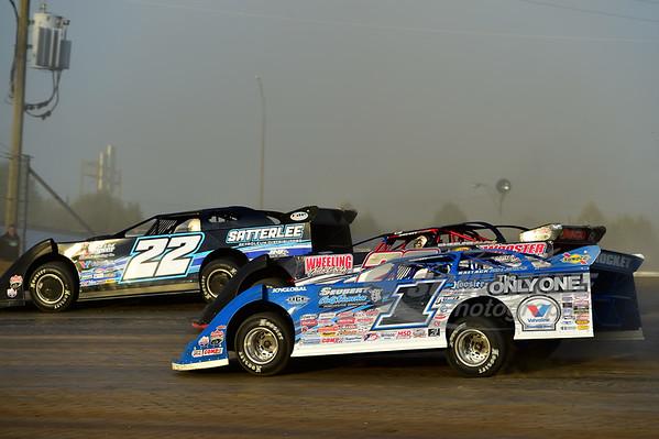 1 Josh Richards, 20 Doug Drown and 22 Gregg Satterlee
