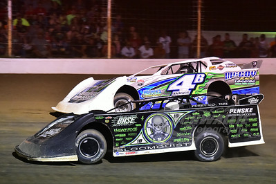 0 Scott Bloomquist and 4b Jackie Boggs