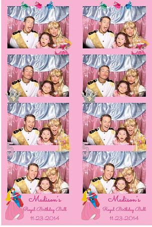 Princess Madison Birthday