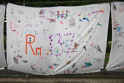 Amelia's class banner.