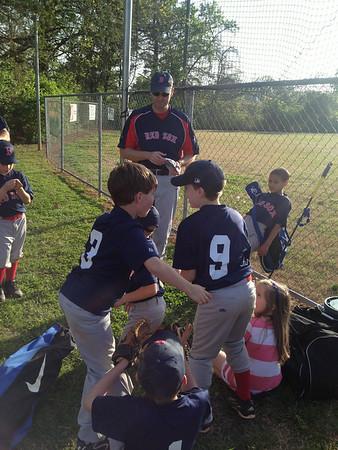 Quinn 2014 Spring Baseball Action