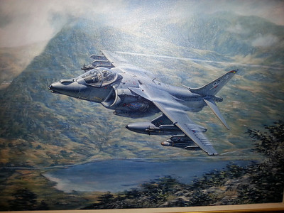 A painting in 20 Sqn History Room that I fell in love with.