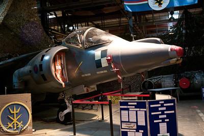 Harrier GR.7A ZD318 Harrier Heritage Center
