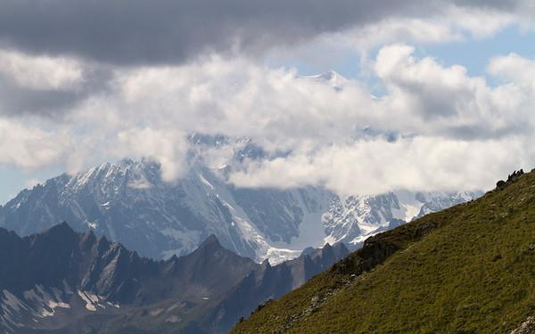 col de champillon, mont blanc
