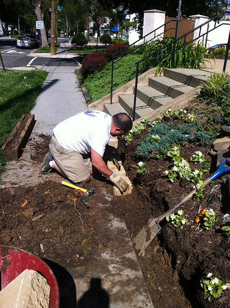 Retaining Wall Project 2014