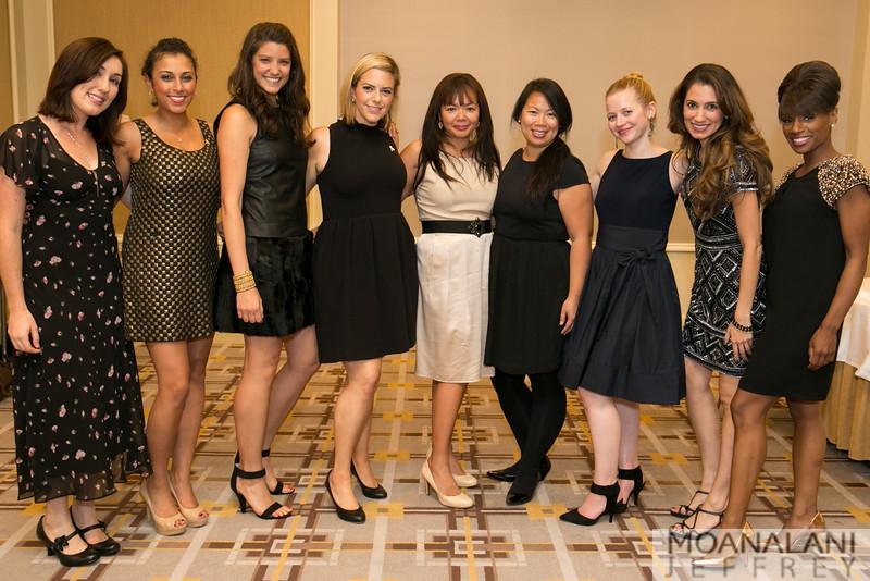1458 Megan Fontana, Mona Antoun, Jennifer Thomas, Abby Malin, Vivian Tero, Michelle Wu, Laura Serrano, Jessica Gardezy, Pernella Sommerville