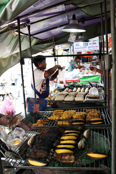 Food vendors galore.