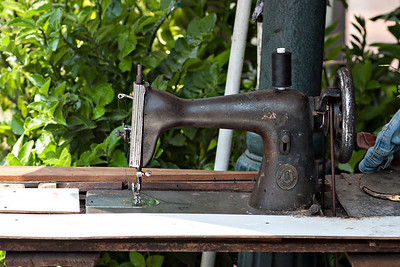 There's some pretty nifty sewing machines on the street in BKK!