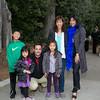 6212 Zachary Endo, Olivia Endo, Terrence Jones, Sydney Endo, Tricia Wong, Teresa Wong-Jones