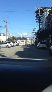 Video of us driving off the edge of the steepest hill in SF (Filbert)