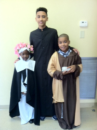 10:30 am MassSt. Rose - Malaya Sanders, 4th grade St. David - David Moses, 9th grade St. Peter - Rashad Ketchens, 3rd grade