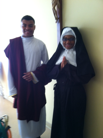 8:30am MassSt. Matthew - Matthew Reillieau, 10th grade St. Katharine Drexel - Linnet Adams, 10th grade