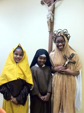 4:00pm MassSt. Bernadette of Lourdes - Jalen Butler, 2nd grade St. Teresa of Avila - Jamari Butler, 1st grade St. Veronica Guiliani - Victoria Sawyer, 11th grade