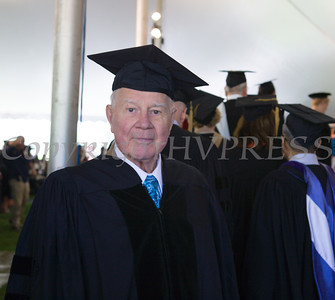 The Honorable William J. Larkin, Jr. received Doctor of Humane Letters, honoris causa, during Mount Saint Mary College's 51st Commencement Exercises in Newburgh, NY on Saturday, May 17, 2014. Hudson Valley Press/CHUCK STEWART, JR.