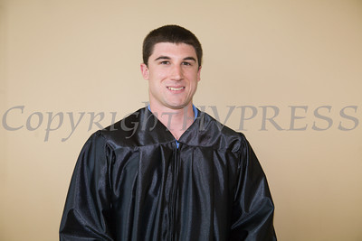 Joseph Stabach was among the 618 students to graduate during Mount Saint Mary College's 51st Commencement Exercises in Newburgh, NY on Saturday, May 17, 2014. Hudson Valley Press/CHUCK STEWART, JR.