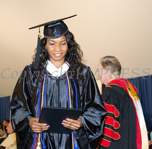 498 undergraduates and 120 graduate students received their degrees during Mount Saint Mary College's 51st Commencement Exercises for the Class of 2014 in Newburgh, NY on Saturday, May 17, 2014. Hudson Valley Press/CHUCK STEWART, JR.