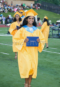 Newburgh Free Academy Salutatorian Bhavana Patil receives her diploma during NFA's 149th Commencement Exercises for the graduating Class of 2014 on Thursday, June 26, 2014 in Newburgh, NY. Hudson Valley Press/CHUCK STEWART, JR.