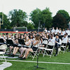 NFA Band plays as seniors process onto Academy Field at Newburgh Free Academy for NFA's 149th Commencement Exercises for the graduating Class of 2014 on Thursday, June 26, 2014. Hudson Valley Press/CHUCK STEWART, JR.